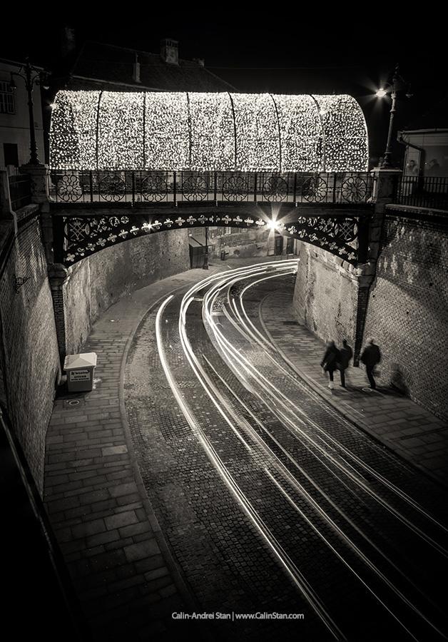 Podul Minciunilor, luminat de Sarbatori