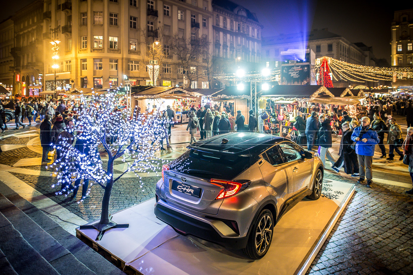 Piața de Crăciun de la Budapesta