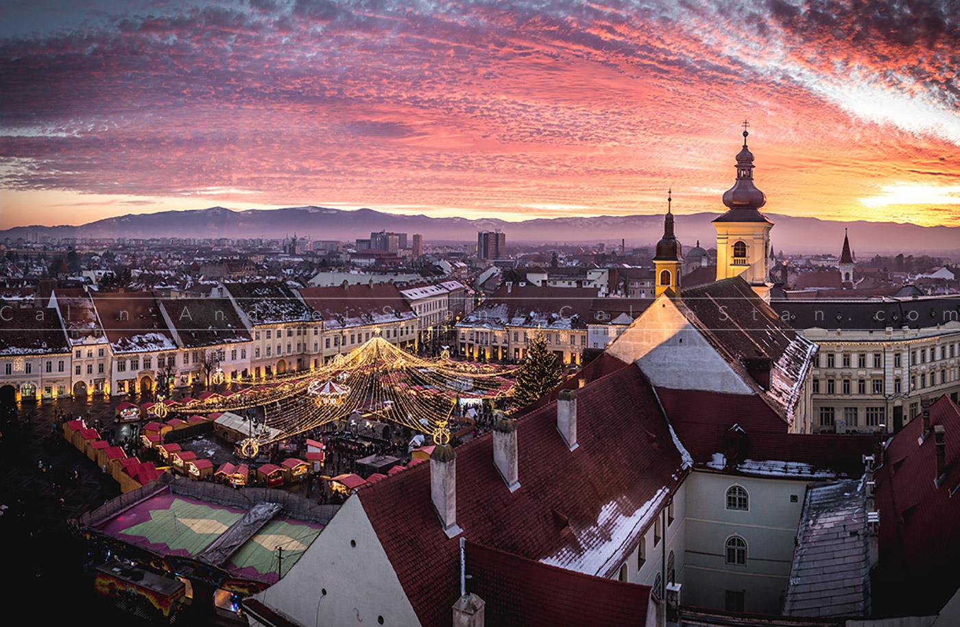 Piața de Crăciun din Sibiu