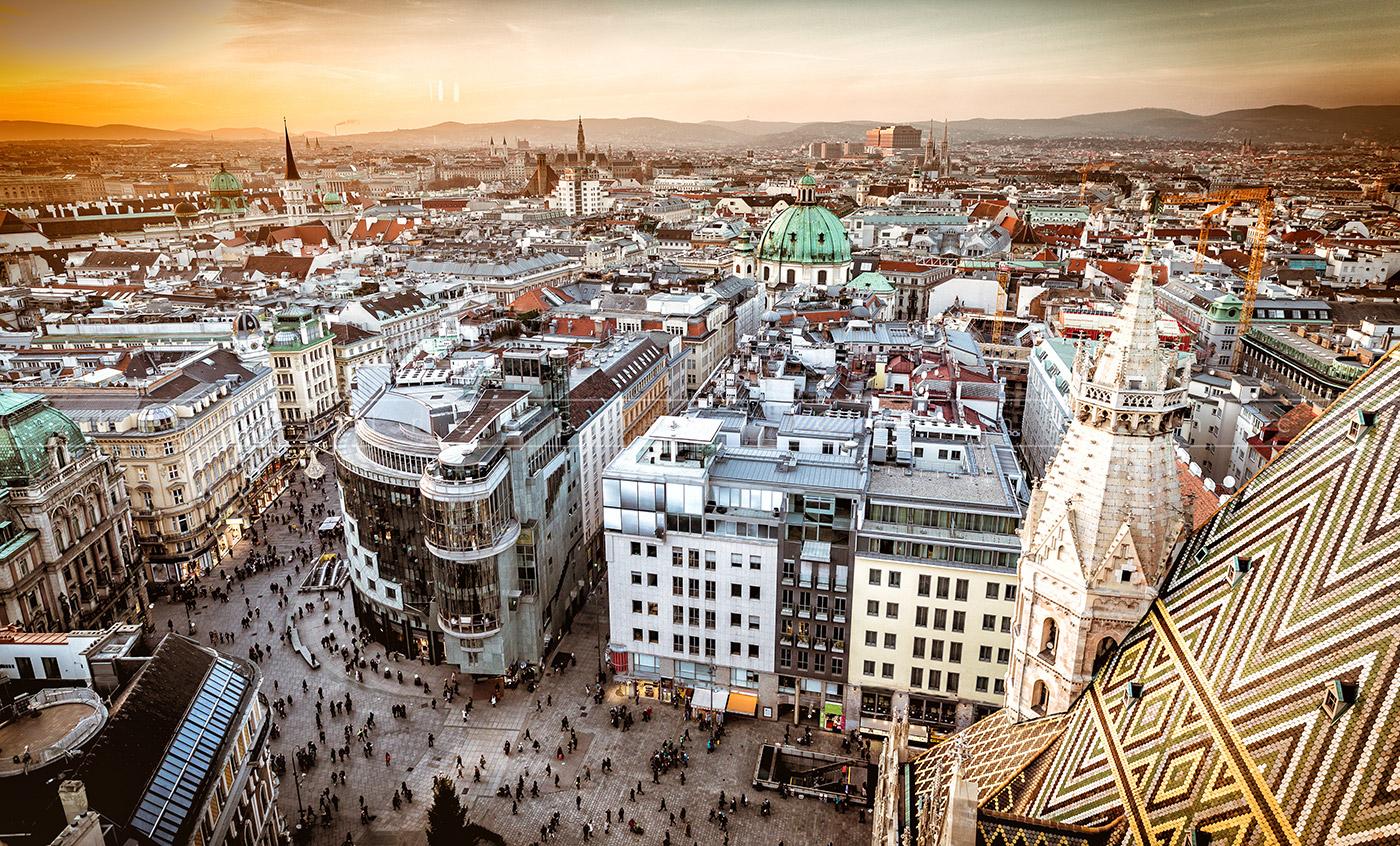 Piața de Crăciun de la Viena