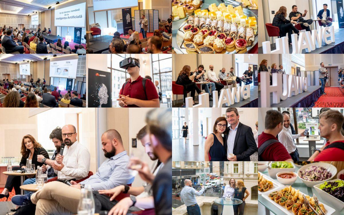 Fotografii de eveniment: conferinta Huawei