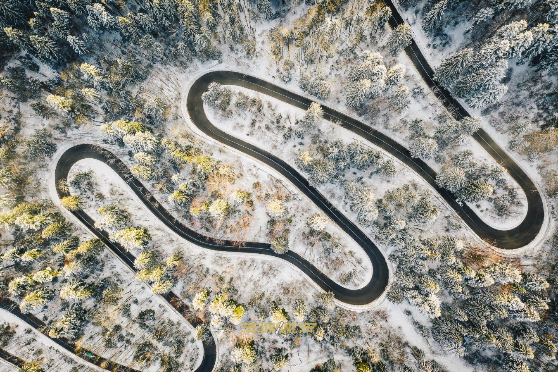 Sosea Sinaia-Targoviste iarna