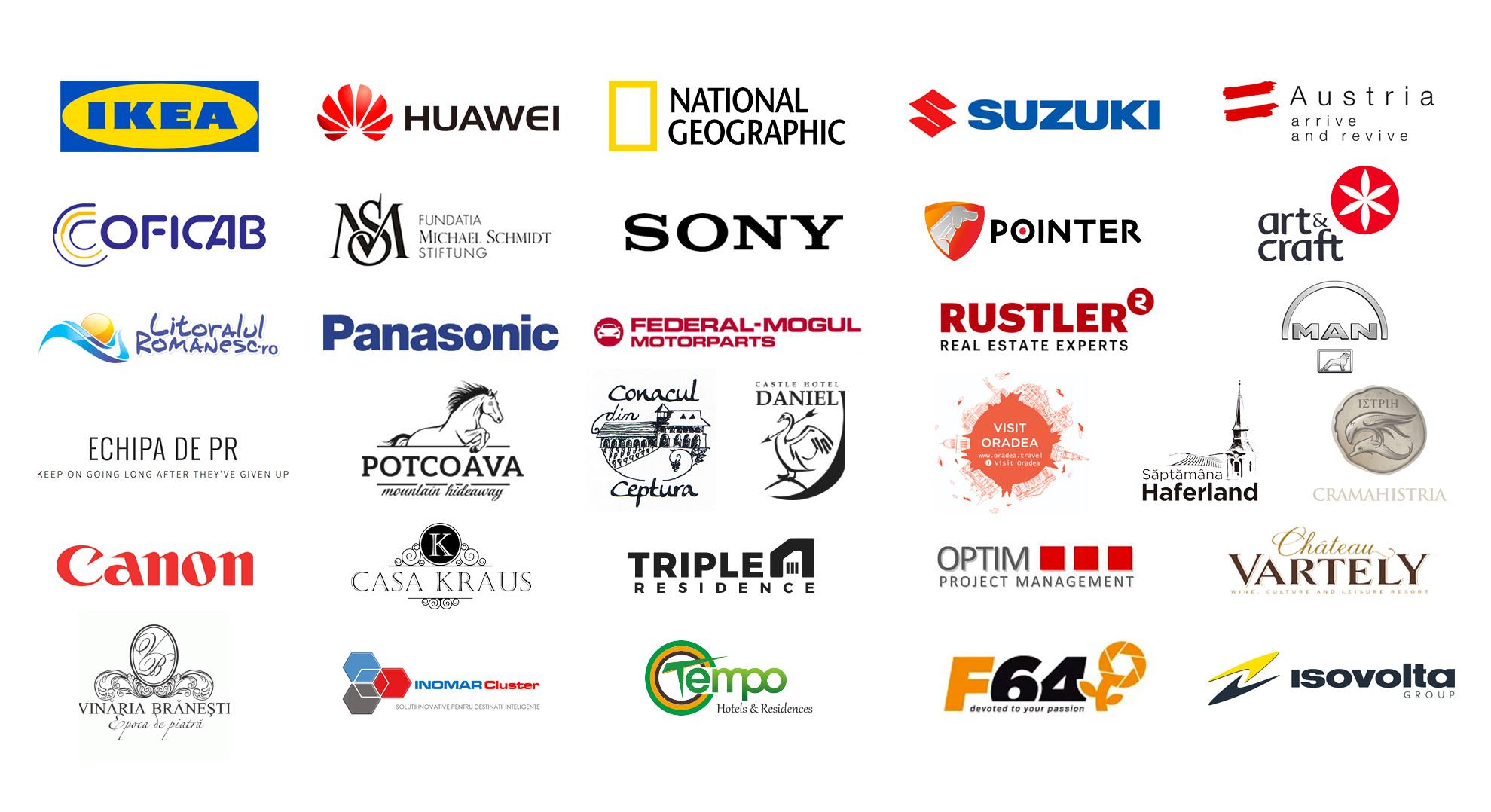 Servicii Foto Corporate si de Eveniment. Cu cine am lucrat pana acum.