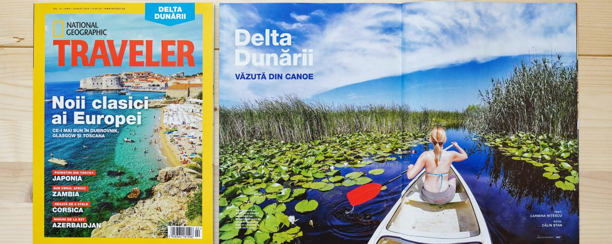Delta Dunarii: National Geographic Traveler, Iunie 2018