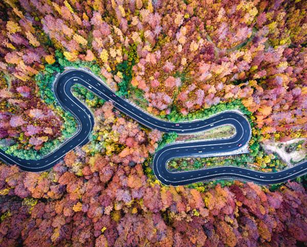 Fotografie de peisaj: aeriană și de la sol