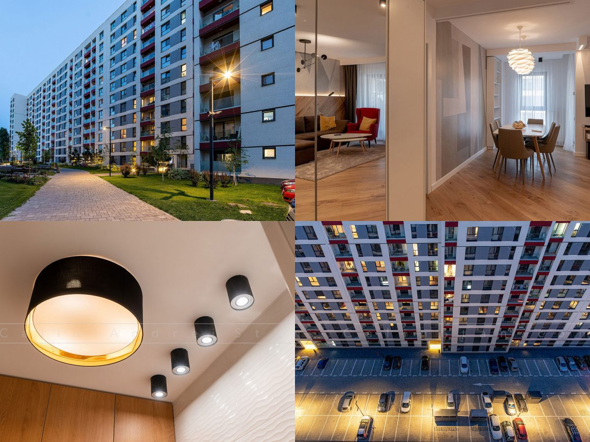 Fotografii ansambluri imobiliare