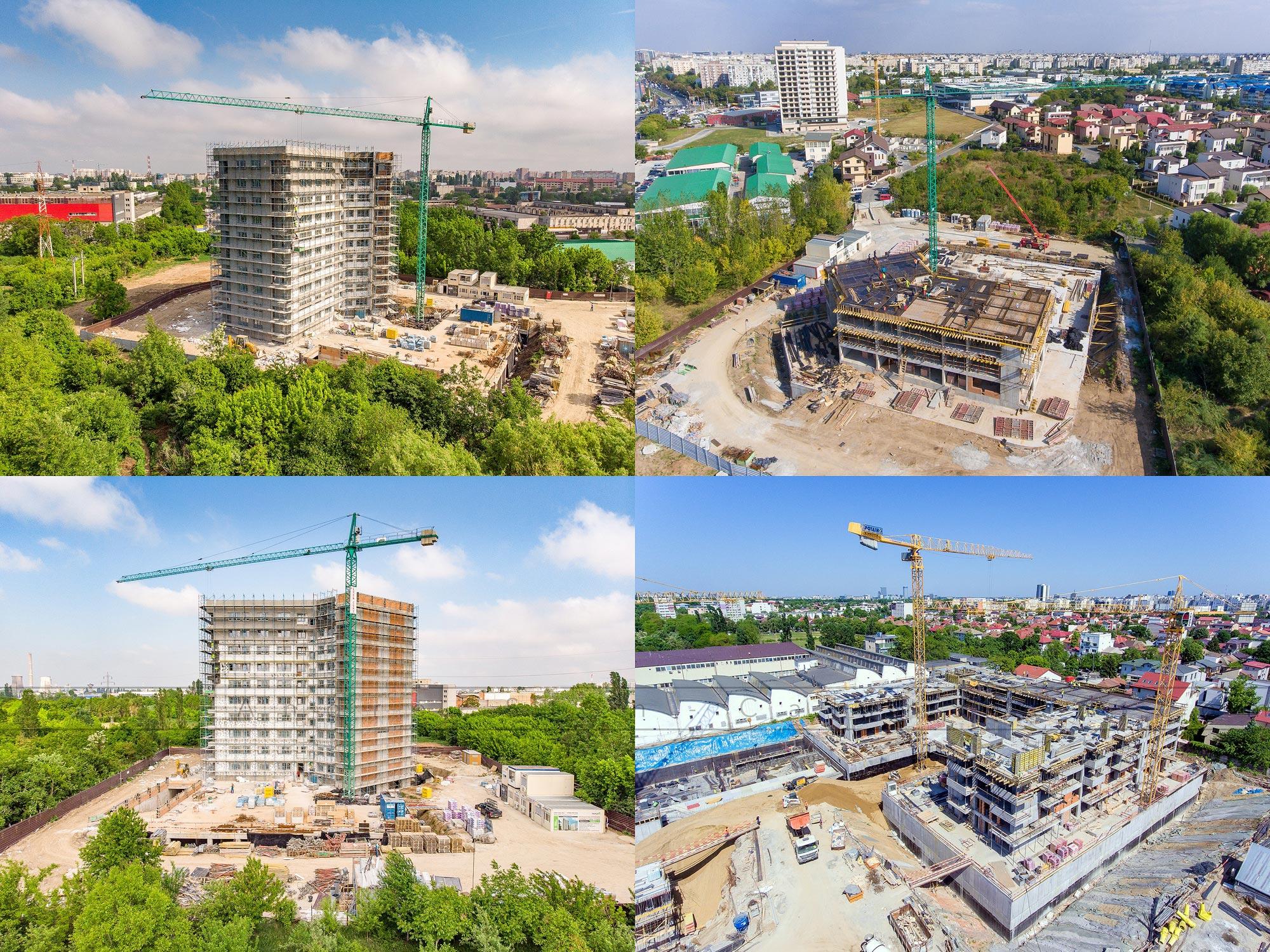 Fotografii profesionale pentru ansambluri imobiliare si dezvoltatori
