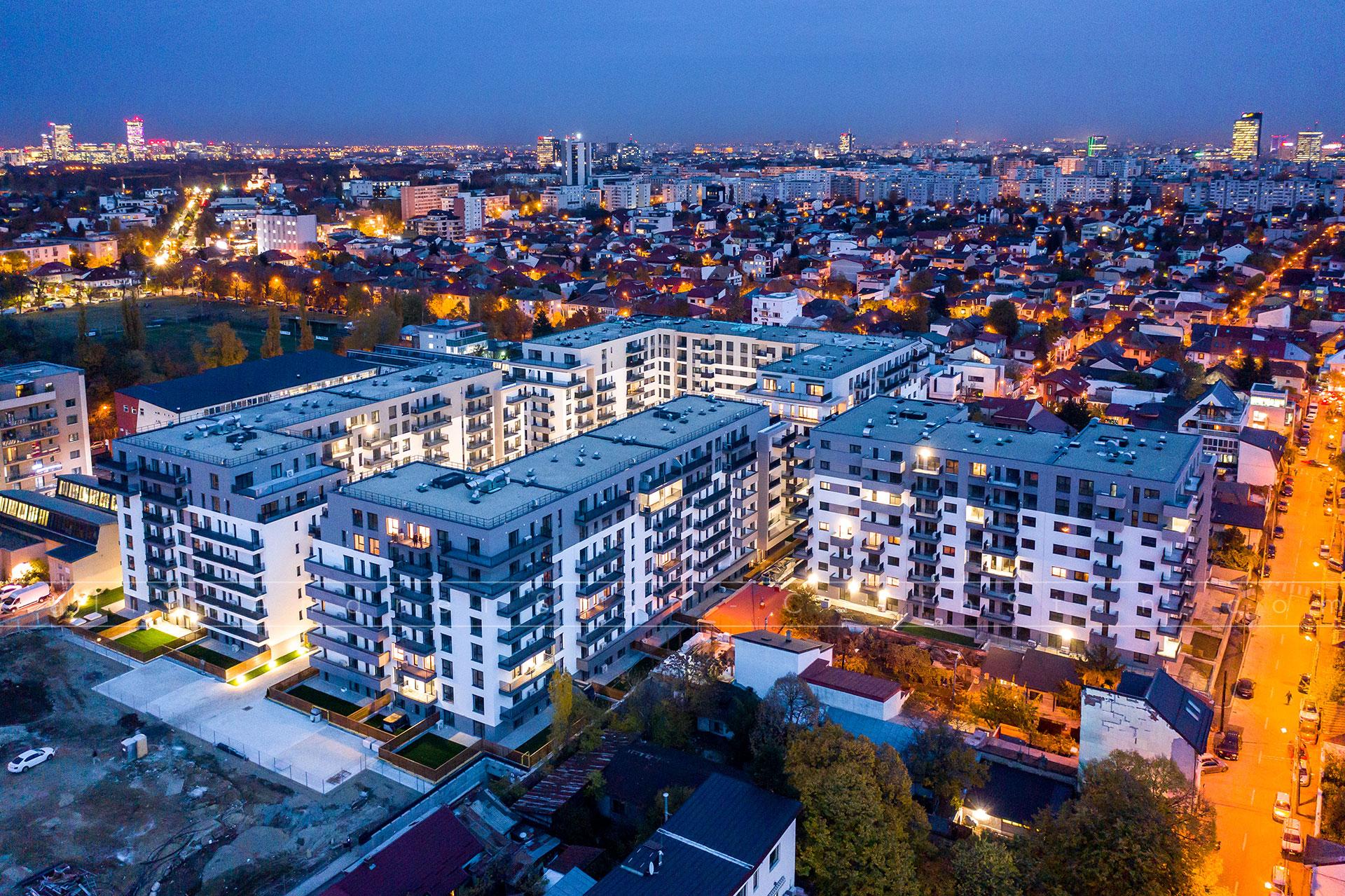 Fotografii profesionale pentru ansambluri imobiliare