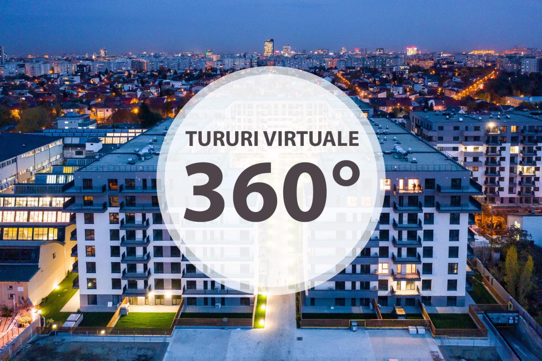 Realizare tururi virtuale 360