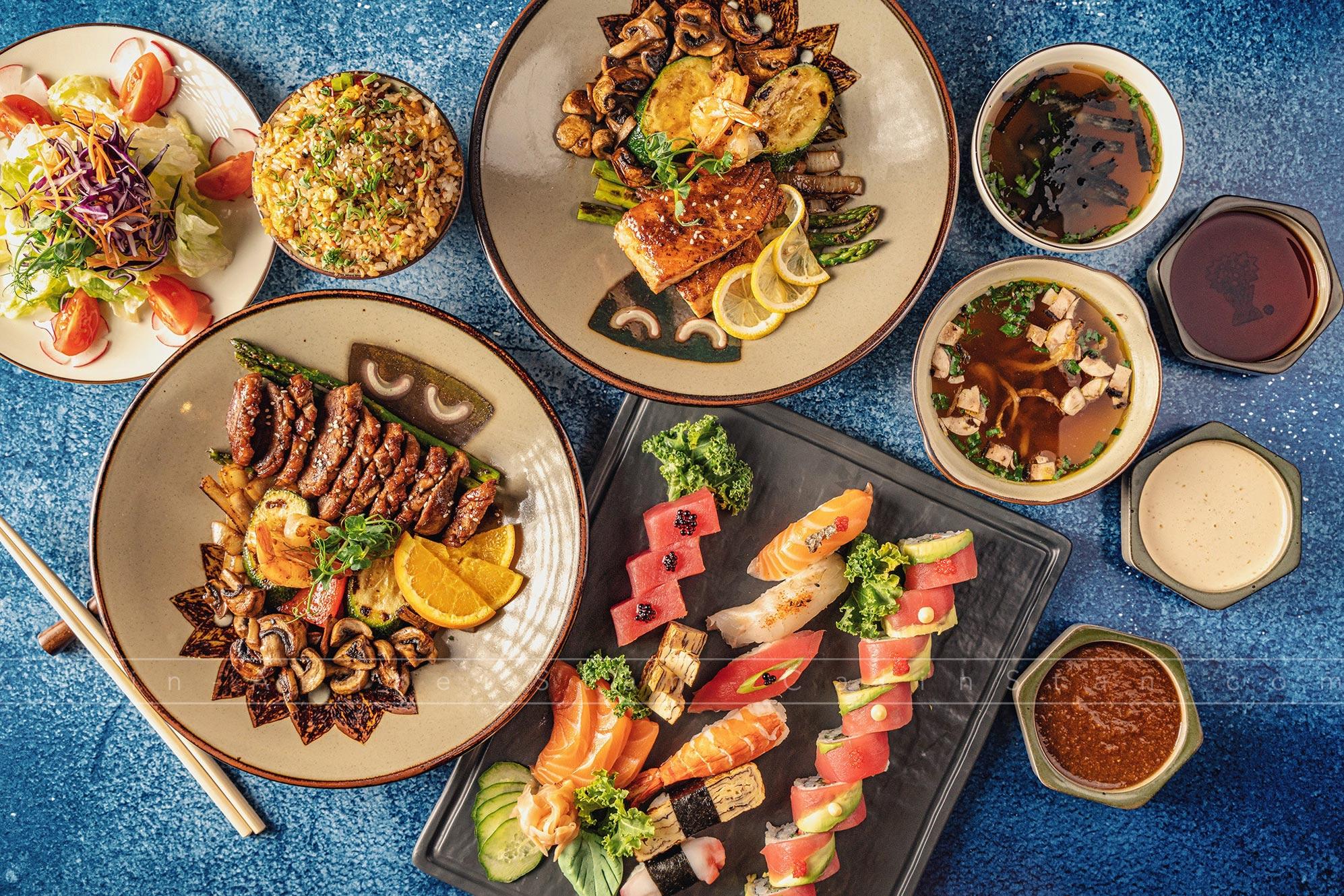 Fotografie culinara Sushi Călin